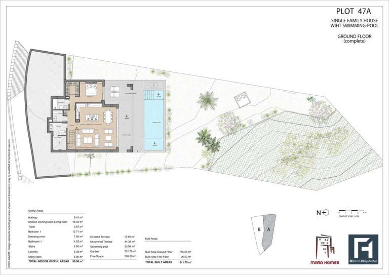 Villa 1 - Ground Floor Complete