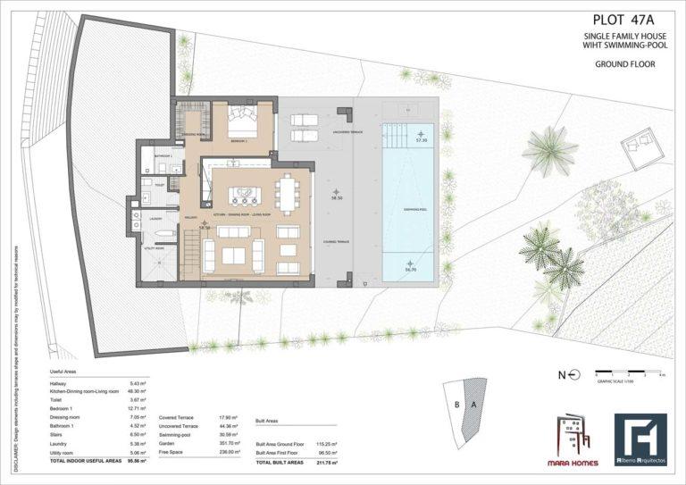 Villa 1 - Ground Floor