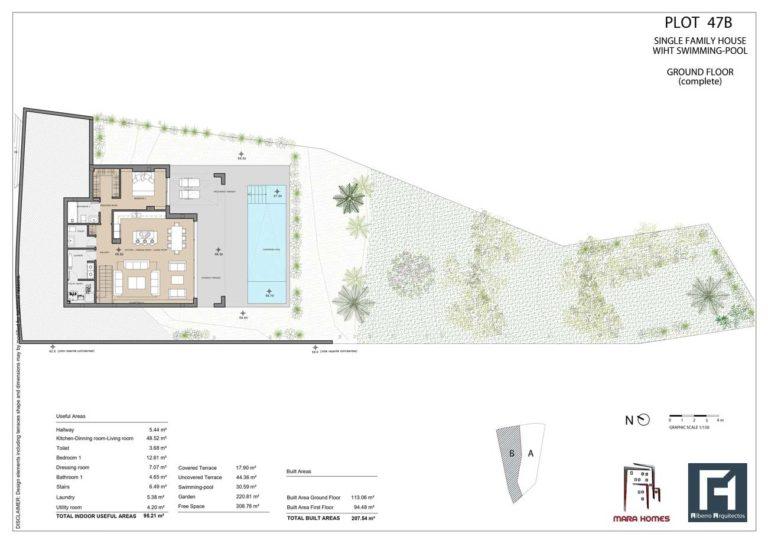 Villa 2 - Ground Floor Complete