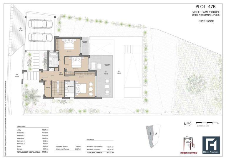Villa 2 - First Floor